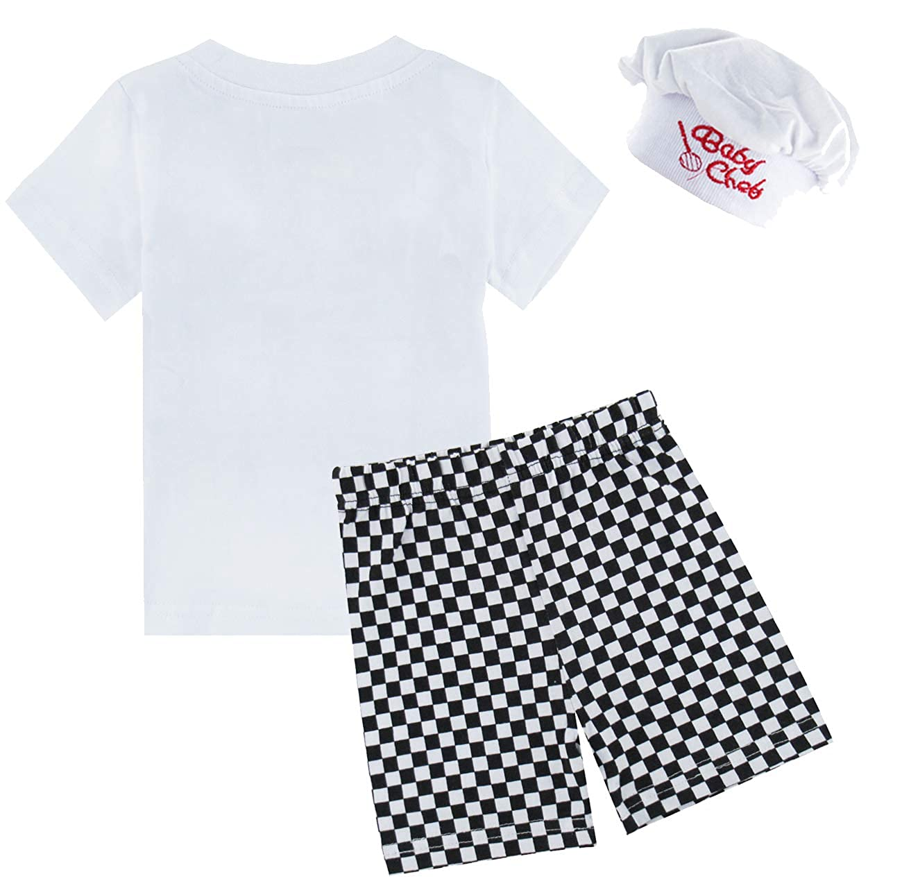 MOMBEBE COSLAND Baby Boys Chef 3-Piece Outfits