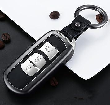 YUWATON Funda para llave de coche para Mazda CX-5 CX-4Mazda ...