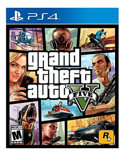Grand Theft Auto 5 V (Playstation 4 PS4,