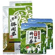 Japanese tea tea tea leaves Fukashi Kakegawa steamed tea 100g + Kakegawa tea powder 50g ~ 2 set