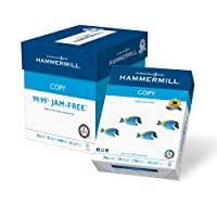 Hammermill Paper, Copy Paper Poly Wrap, 20lb, 8.5 x 11, Letter, 92 Bright, 3,000 Sheets / 4 Bulk Ream Case (150300C) Made In The USA