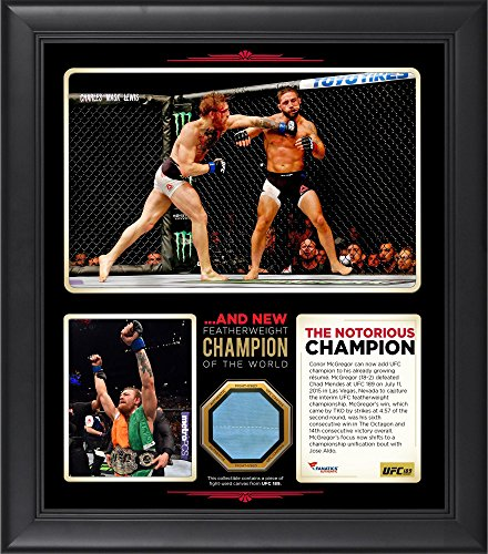 Conor McGregor Ultimate Fighting Championship Framed 15'' x