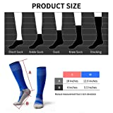 5 Pairs Kids Soccer Socks Boys Girls High Tube Long Knee Athletic Football Socks