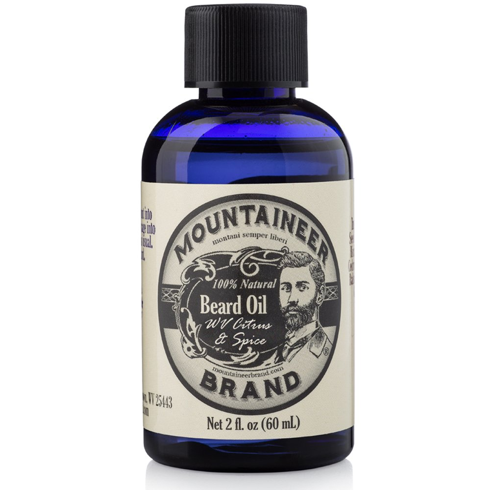 Mountaineer Beard Oil (With Citrus and Spice)