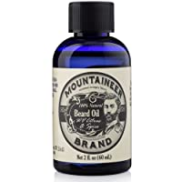 Beard Oil by Mountaineer Brand (2oz) | Premium 100% Natural Beard Conditioner (WV...