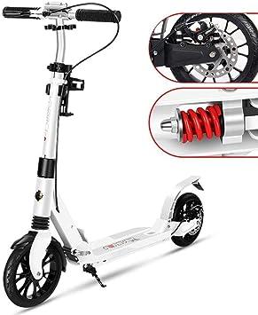 Fswallowhand Scooter eléctrico Scooter Plegable para Adultos ...