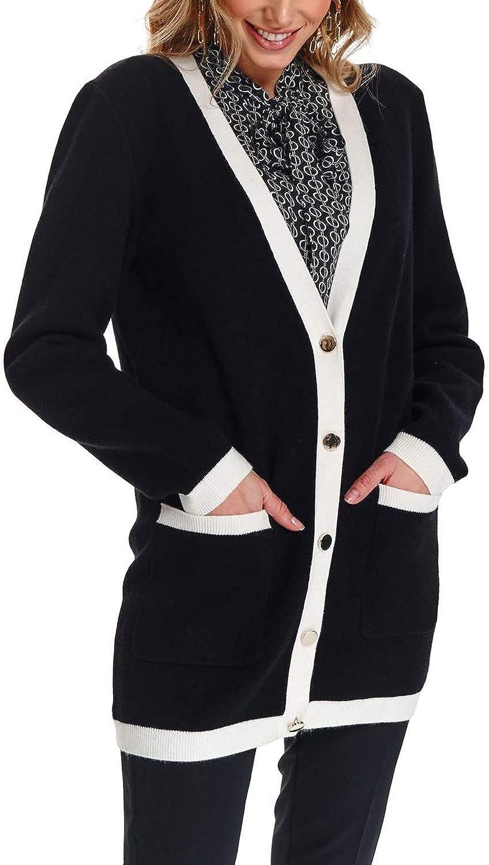 Top Secret Women\'s Long Sleeve Cardigan Black