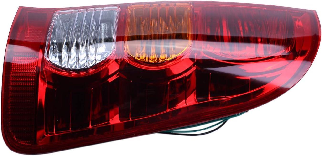 TOOGOO Feu Arri/ère Droit Rouge pour Hilux 2005-2011 Feu de Freinage Arri/ère avec Faisceau de Cables
