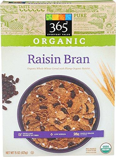 365 Everyday Value, Organic Raisin Bran, 15 Ounce