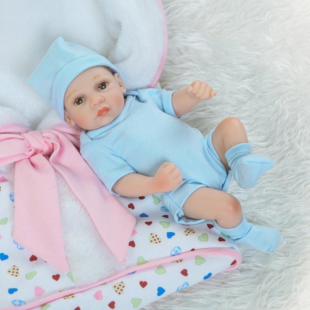 Amazon.com: Bath Baby Doll Twins Lovely Couple Mini Full Vinyl ...