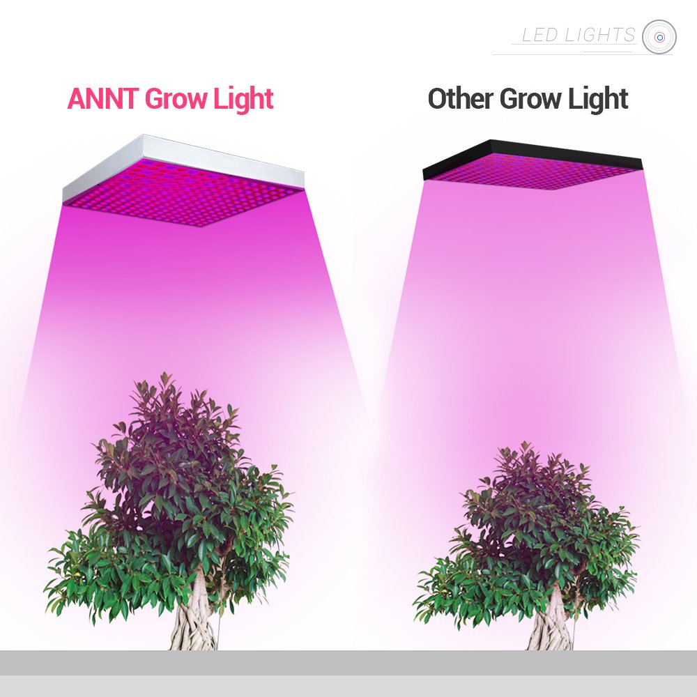 ANNT 45W LED Plant Grow Light Panel Growth Lamp Red Blue Spectrum Hanging Lighting for Hydroponic Aquatic Indoor Plant Growth and Flowering by ANNT (Image #7)