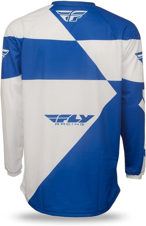 blau-wei/ß Fly Motocross//MTB 2016 Jersey F-16