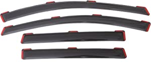 Auto Ventshade 194383 In-Channel Ventvisor Side Window Deflector, 4-Piece Set for 2013-2019 Ford Escape