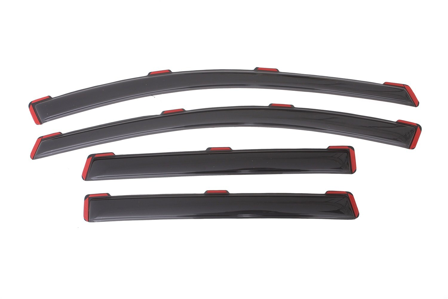 Auto Ventshade 194383 In-Channel Ventvisor Side Window Deflector, 4-Piece Set for 2013-2018 Ford Escape