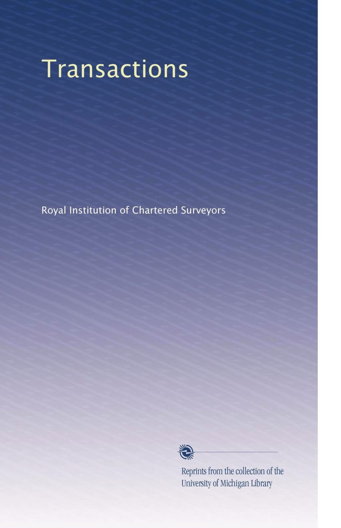 Transactions (Volume 50) pdf