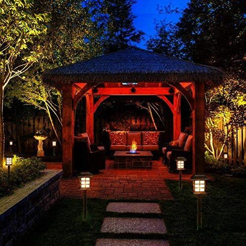 Pathway Coach Lights - Farol solar LED para jardín, resistente al ...