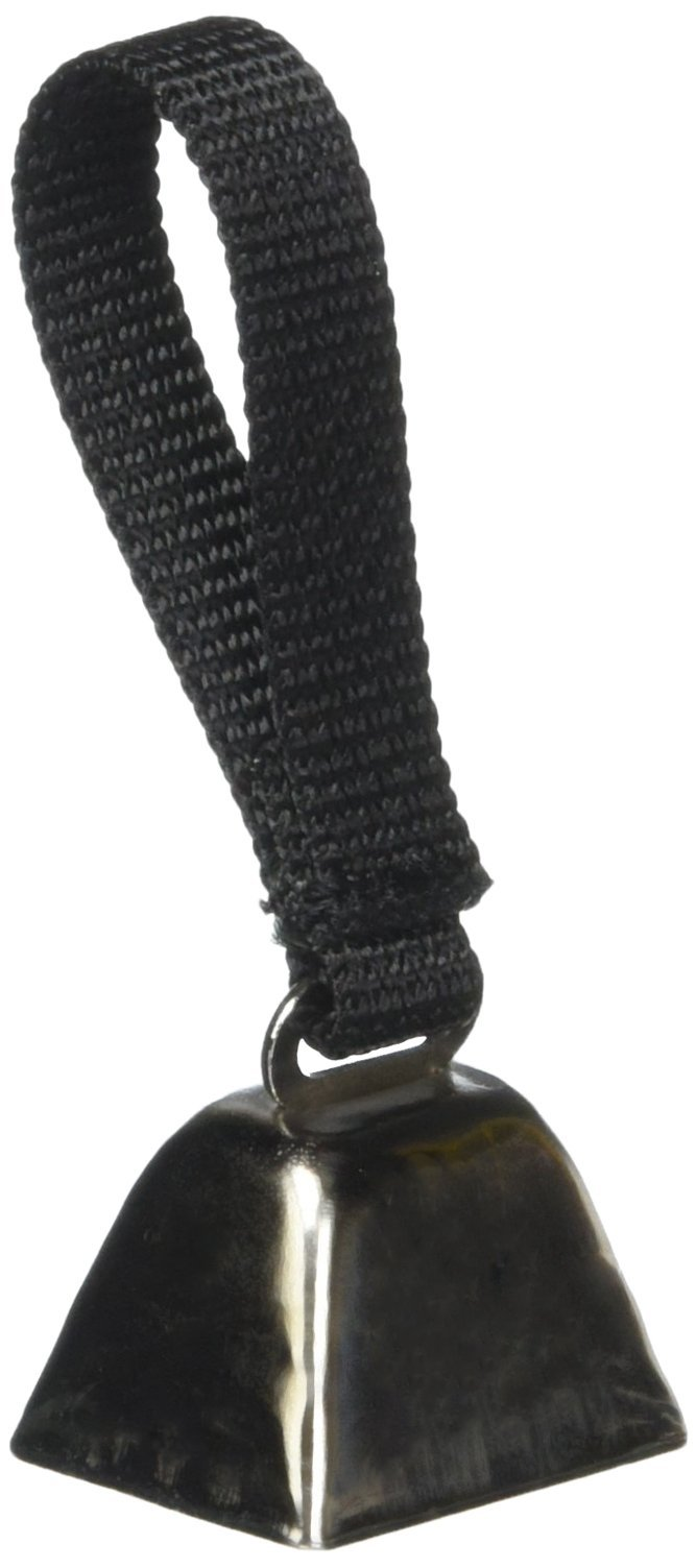 OmniPet Leather Brothers Nickel Plated Turkey Dog Bell by OmniPet