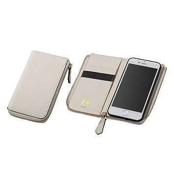 67c4c65b2d ディーフ Deff iPhone 8 / iPhone 7 対応 ROUND ZIP CASE アイボリー DCS-IP7RZIV