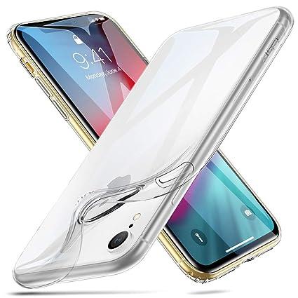 hot sale online 1ab74 e3807 ESR Slim Soft TPU Case Back Cover for iPhone XR 6.1