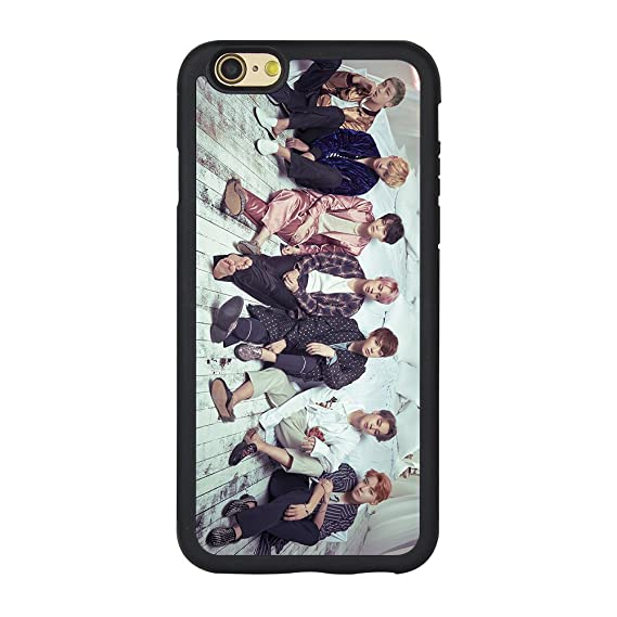 BTS Iphone 6s Case,Kpop Bts Case Phone Case for Iphone 6 or 6s 4.7 Inches TPU Case