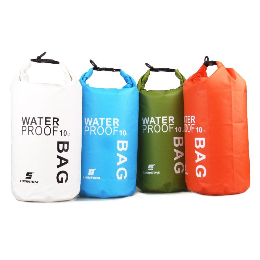 Dimart 2L Bolsa Resistente Bolsa de Flotante de compresi/ón Ligero Saco seco Impermeable para canotaje Kayak Pesca Rafting