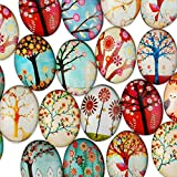 Rosebeading 18x25mm Oval One Style Mix Pattern
