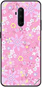 For For OnePlus 7T Pro Case Cover Small Flowers Pink Floral Pattern