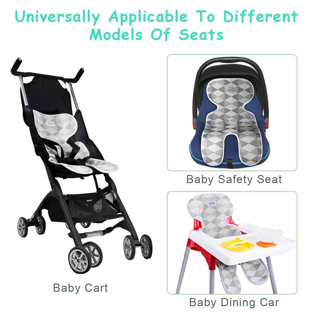 Universal Atmungsaktiv Cool Child Mat Kissen Sommer Neugeborenen Kleinkind Baby Sitz Liner F/ür Kinderwagen Kinderwagen Liner Sitz