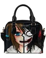 Angelinana Custom Women's Handbag Jeff The Killer Creepypasta Fashion Shoulder Bag