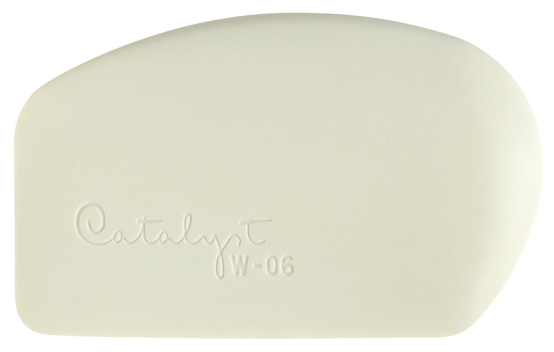 Princeton Art & Brush W-06 Catalyst Silicone Wedge Tool, White W-0-6