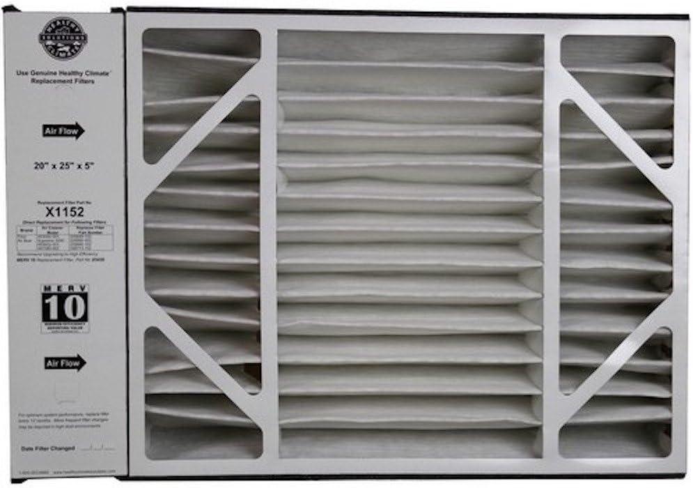 Lennox X1152 MERV 11 Filter 20 x 25 X 5