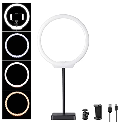 bead6cd14c Amazon.com   Neewer 10 inches USB-Powered LED Ring Light  2-Power 5W ...