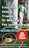 The Cat Caller - Best Pet Tracker Small Enough for Cats & Small Dogs - White Collar Receiver + 1 Keychain Remote * FREE Safety Collar * FREE I.D. Tag Stickers! *GREAT GIFT IDEA!