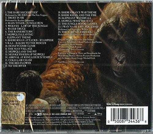 2016 soundtrack book jungle