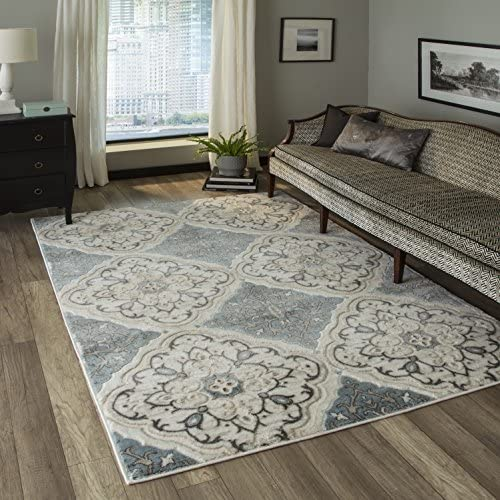 Momeni Rugs Brooklyn Heights Collection Area Rug, 9 3 x 12 6 , Ivory