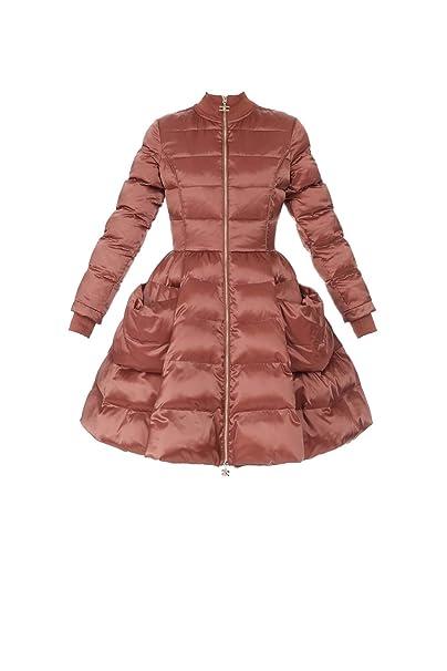 Elisabetta Franchi Piumino Donna PI18Z87E2 Geranio 40  Amazon.it   Abbigliamento 0dd1f6f89bc9
