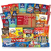 Amazon Lightning Deal 84% claimed: Snack Chips Gift Set Party Box Bundle Care Package 60 Count