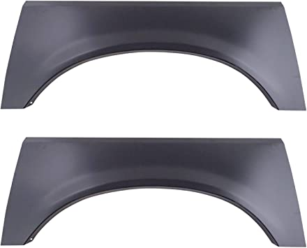 HECASA Bed Wheel Arch Rust Repair Patch Replacement Panel Pair Compatible with 1999-2007 Ford F250 F350 F450 F550 Pickup Trunk