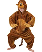 Enfants animale Boogie Woogie Singe Fancy Dress Costume grandes XX 11-13 ans