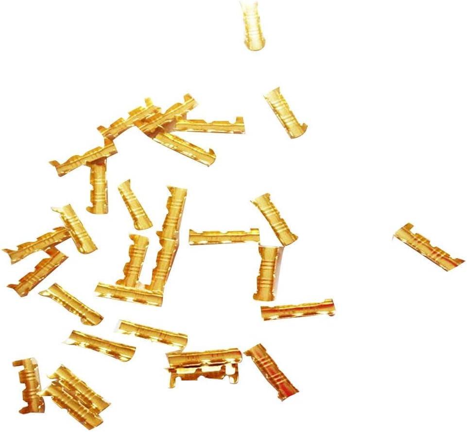 Beaviety Lot de 100 connecteurs Rapides en Forme de U avec Manchon Isolant 0,5 /à 1,5 mm