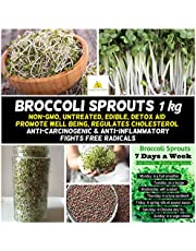 Broccoli Sprouts 1kg Seeds Non-GM untreated BROCOLI Sprout Sprouting Edible