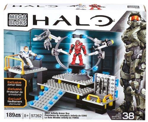 Mega Bloks Halo UNSC Infinity Armor -