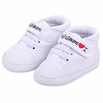 Koly nuevoborn Soft Baby Infant Hombre Hombre Mujer Soft nuevoborn Sole Canvas Sneaker 9a2f80
