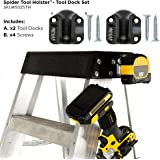 SPIDER Tool Holster Tool Dock Set - Securely Hold Your Tools and Organize Your Workspace - Two Pack