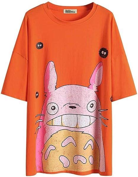 O&YQ Camiseta de Manga Larga, Media Manga, Media Manga Larga de Algodón, Manga Larga, para Mujer, Naranja, l: Amazon.es: Deportes y aire libre