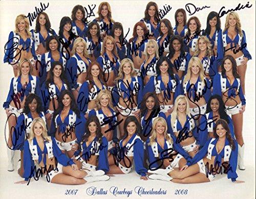 dallas-cowboys-cheerleaders-autographed-8x11-photo-coa-melissa-rycroft