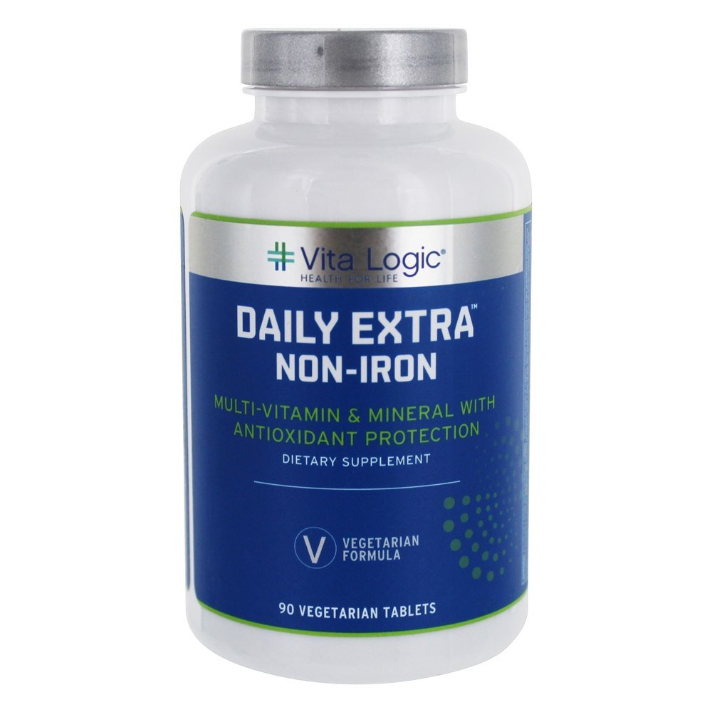 Vita Logic Daily Extra Iron Free, 90 Count