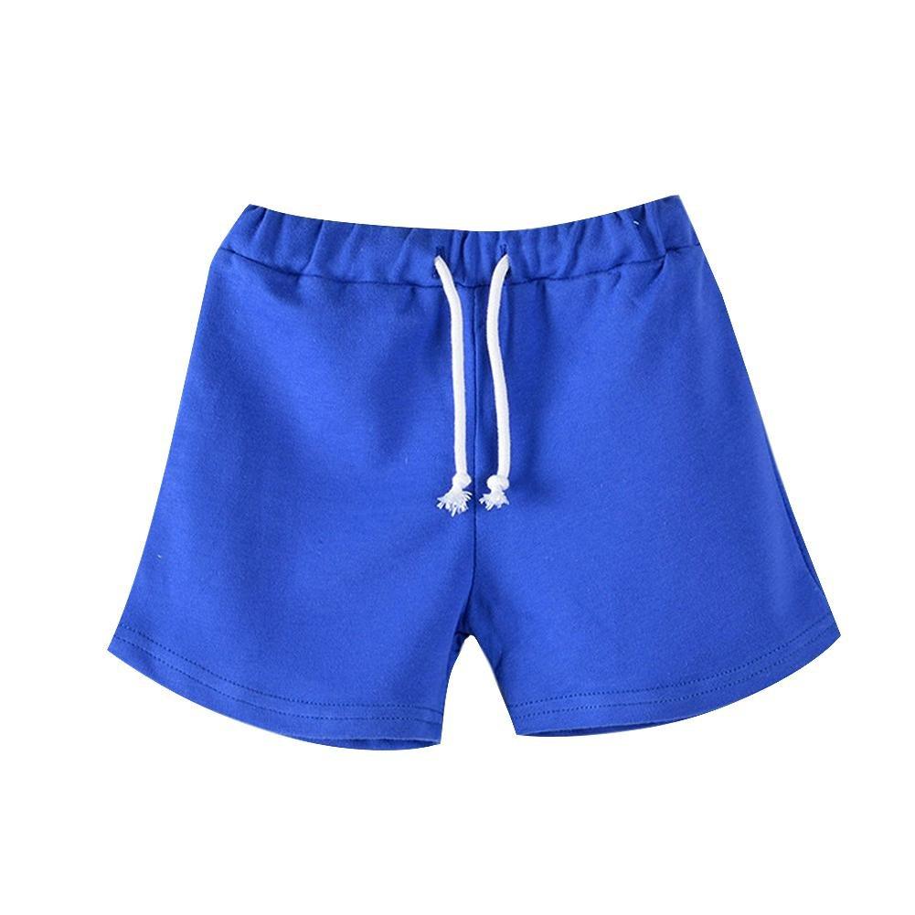 Hankiki Mädchen Jungen Joggingshorts Candy Color Streetwear Sport Shorts Beach Shorts