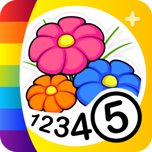Color by Numbers - Flowers + ()