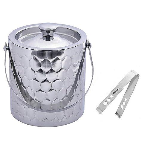 Compra Kosma KG-25100 - Cubo de hielo (acero inoxidable) en ...